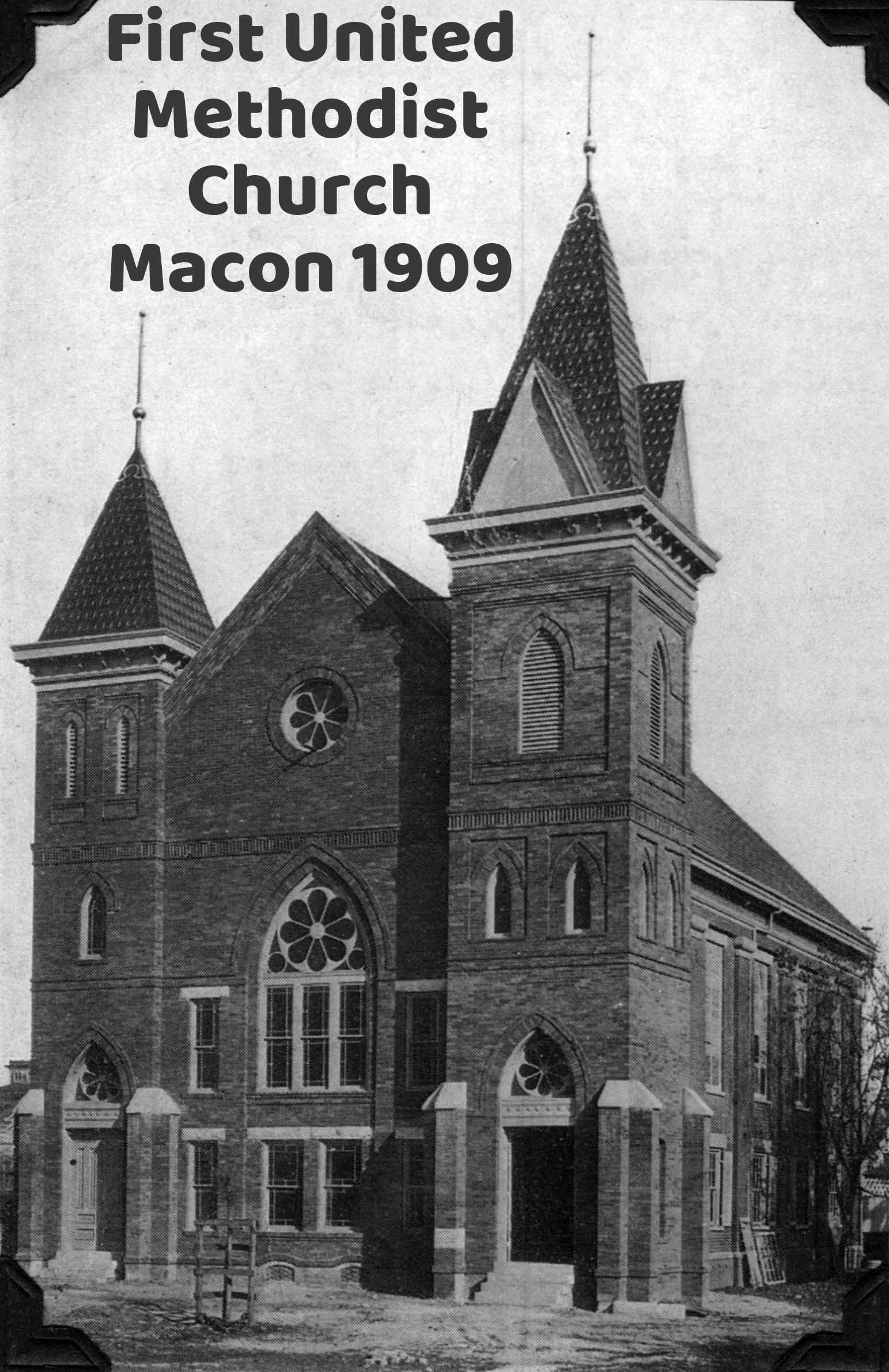 First United Methodist Church - Macon, Mississippi - 1909