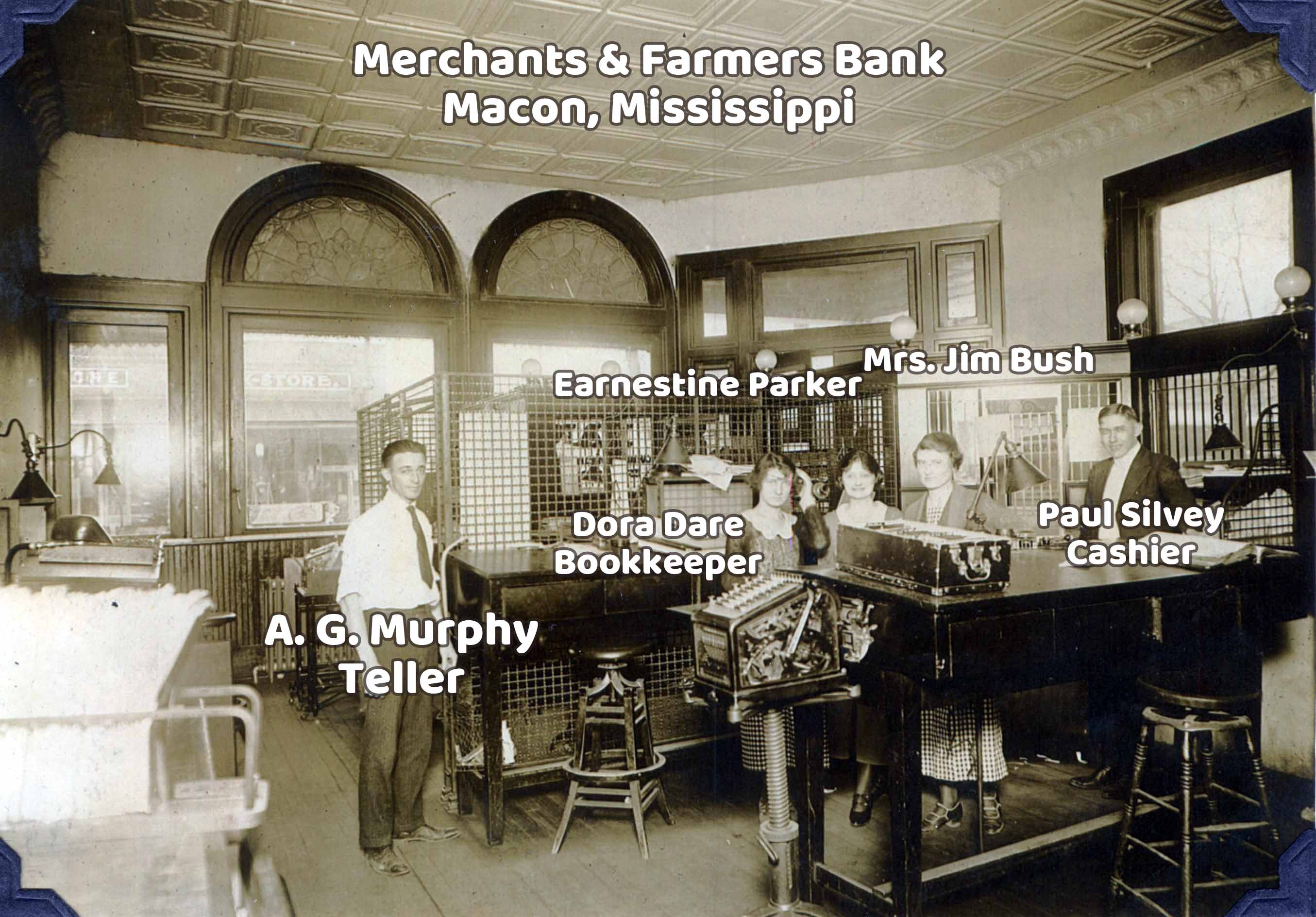 M&F Bank - Macon, Mississippi