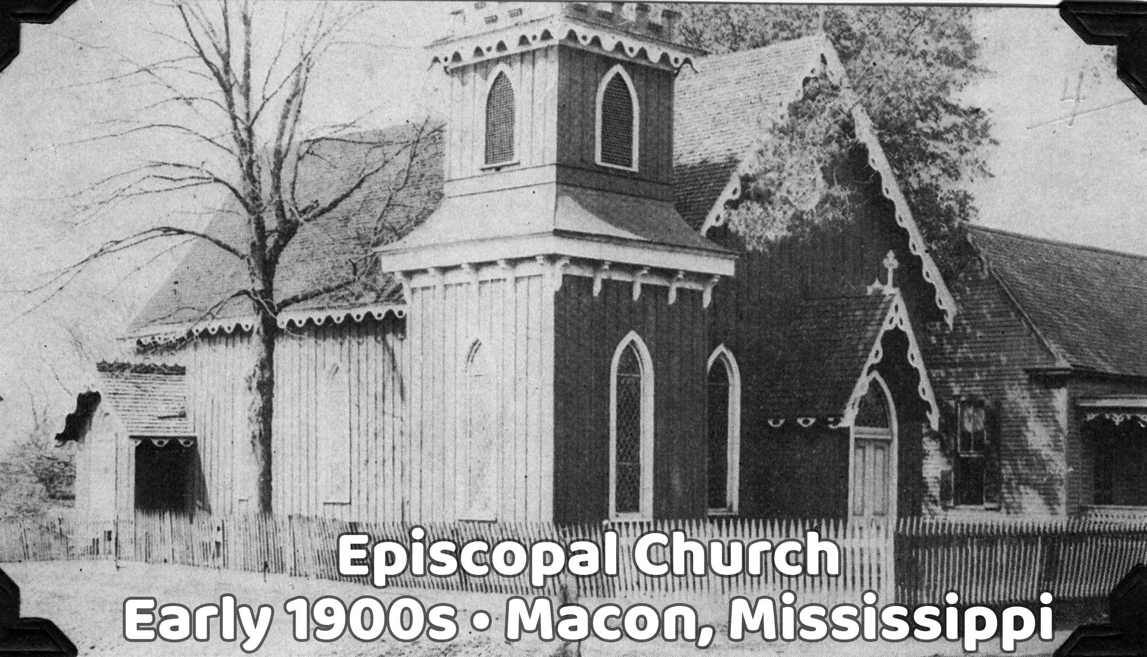 Old Episcopal Church in Macon, Mississippi